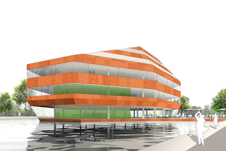 architectenkeuze gemeentehuis drechterland architectuur lokaal. Black Bedroom Furniture Sets. Home Design Ideas