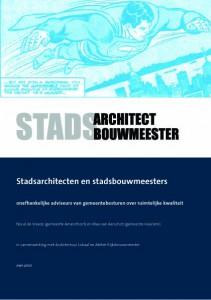 cover Stadsarchitecten en Stadsbouwmeesters