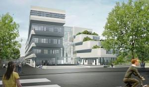 Faculteit Educatie Hogeschool Arnhem Nijmegen (HAN), ontwerp en afbeelding LIAG