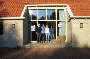 Atelier ZZ voor de boerderij in Oosterzee