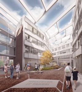 ROC ID college Leiden. Ontwerp: Mecanoo