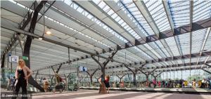 Rotterdam Centraal Station. Foto Jannes Linders