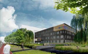 IJsselcollege Capelle aan den IJssel. Ontwerp: RoosRos Architecten