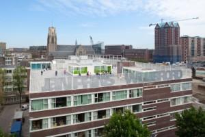 Brede school Nieuwstraat, Rotterdam, ontwerp: Arconiko architecten. Foto: Jean Paul Mioulet