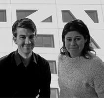 Robbin Knuivers en Martine van Rijn