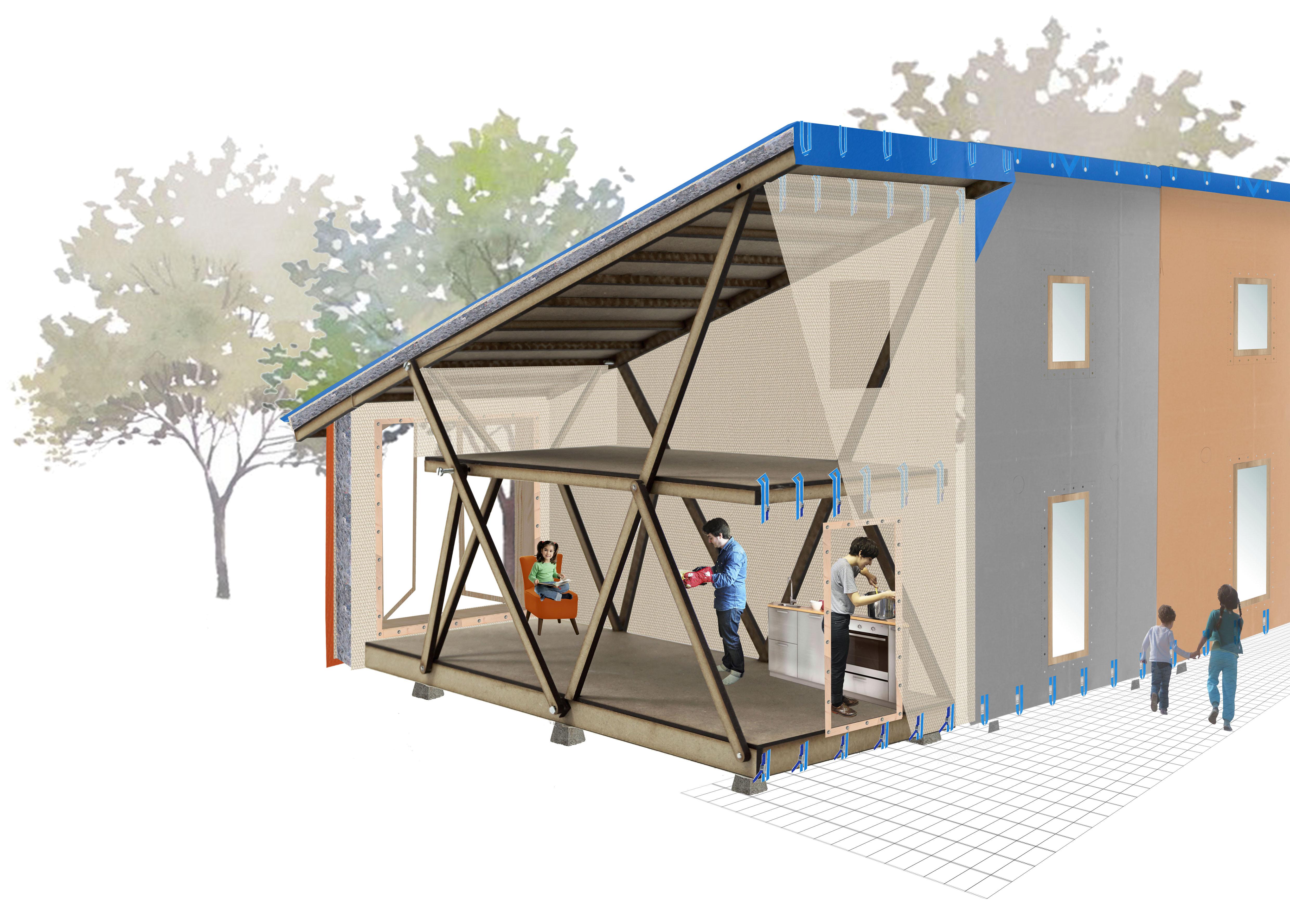 Bekendmaking 12 genomineerden prijsvraag a home away from for Verplaatsbaar huis