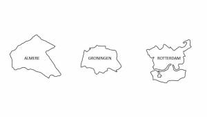 drie steden