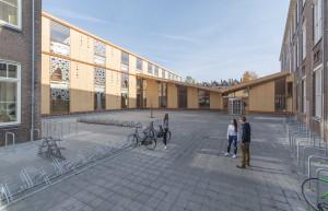 Ontwerp en realisatie renovatie en uitbreiding Rudolf Steiner College Rotterdam. Ontwerp: Arconiko Architecten.